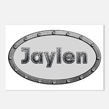 Jaylen Metal Oval Postcards (Package of 8)