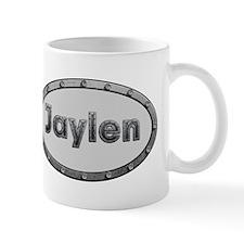 Jaylen Metal Oval Mugs