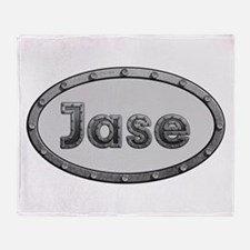 Jase Metal Oval Throw Blanket