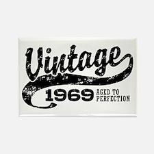 Vintage 1969 Rectangle Magnet