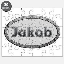 Jakob Metal Oval Puzzle