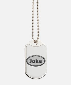 Jake Metal Oval Dog Tags