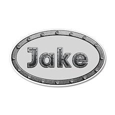 Jake Metal Oval Wall Decal