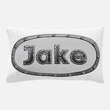 Jake Metal Oval Pillow Case