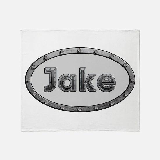 Jake Metal Oval Throw Blanket