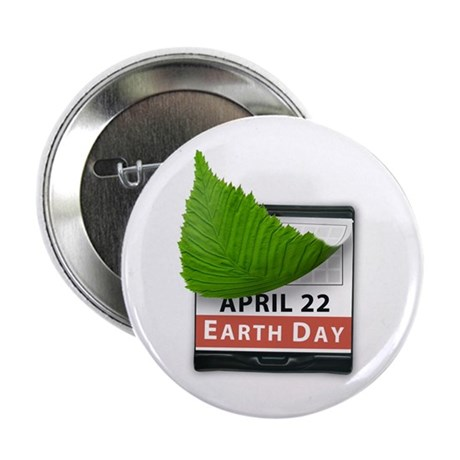 "April 22 Earth Day 2.25"" Button (10 pack)"