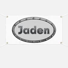 Jaden Metal Oval Banner