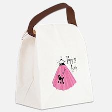 Puppy Love Canvas Lunch Bag