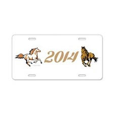 Year of the Horse Aluminum License Plate