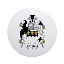 Lawless Ornament (Round)