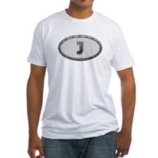 J Metal Oval T-Shirt