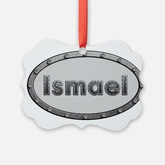 Ismael Metal Oval Ornament