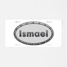 Ismael Metal Oval Aluminum License Plate