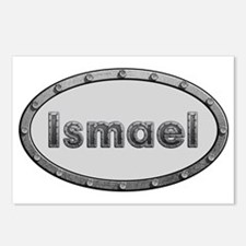Ismael Metal Oval Postcards (Package of 8)