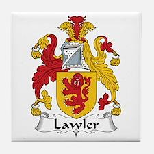 Lawler Tile Coaster