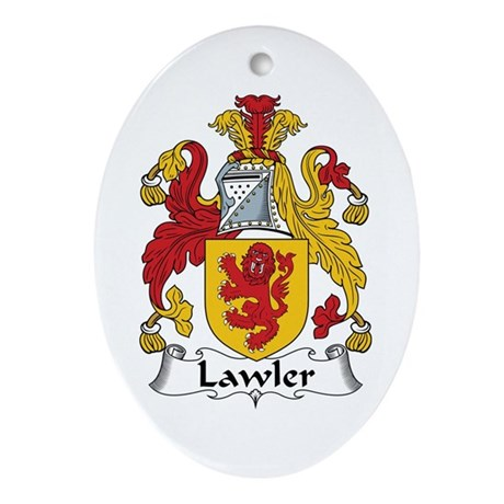 Lawler Oval Ornament