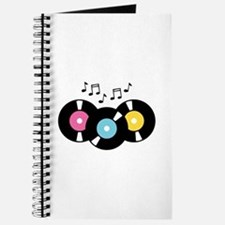 Music Records Notes Journal