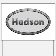 Hudson Metal Oval Yard Sign