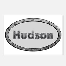 Hudson Metal Oval Postcards (Package of 8)