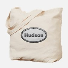 Hudson Metal Oval Tote Bag