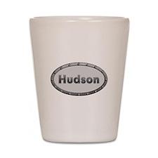 Hudson Metal Oval Shot Glass