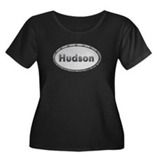 Hudson Metal Oval Plus Size T-Shirt