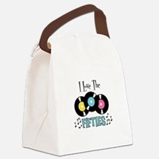 I Love the Fifties Canvas Lunch Bag