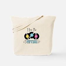 I Love the Fifties Tote Bag
