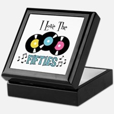 I Love the Fifties Keepsake Box
