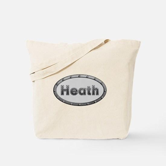 Heath Metal Oval Tote Bag