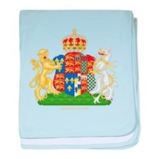 Anne Boleyn Coat of Arms baby blanket