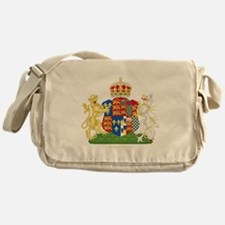Anne Boleyn Coat of Arms Messenger Bag