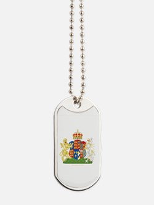 Anne Boleyn Coat of Arms Dog Tags