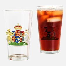Anne Boleyn Coat of Arms Drinking Glass