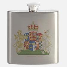 Anne Boleyn Coat of Arms Flask