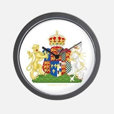 Anne Boleyn Coat of Arms Wall Clock