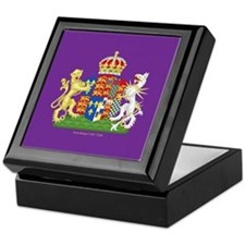 Anne Boleyn Coat of Arms Keepsake Box