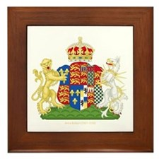 Anne Boleyn Coat of Arms Framed Tile