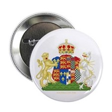 "Anne Boleyn Coat of Arms 2.25"" Button (10 pack)"