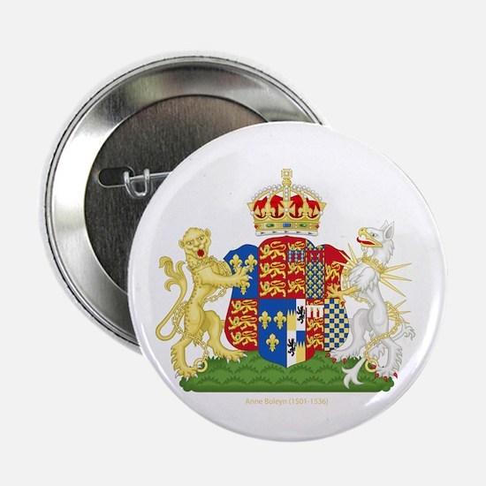 "Anne Boleyn Coat of Arms 2.25"" Button (10 pack)"