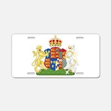 Anne Boleyn Coat of Arms Aluminum License Plate