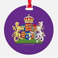 Anne Boleyn Coat of Arms Ornament