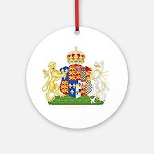 Anne Boleyn Coat of Arms Ornament (Round)