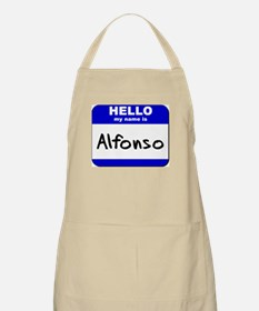 hello my name is alfonso  BBQ Apron