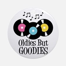 Oldies But Goodies Ornament (Round)
