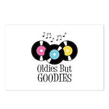 Oldies But Goodies Postcards (Package of 8)