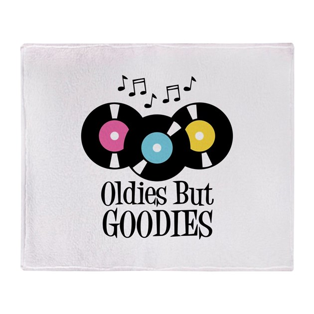 Oldies But Goodies Throw Blanket By Hopscotch6