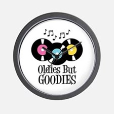Oldies But Goodies Wall Clock