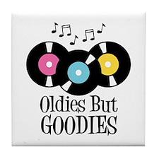 Oldies But Goodies Tile Coaster