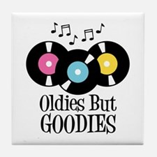 Oldies But Goodies Tile Coaster
